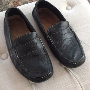 Bass and Co. slip on moccasins.